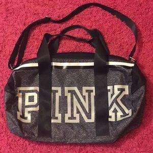 Victoria's Secret Reflective Duffle Bag